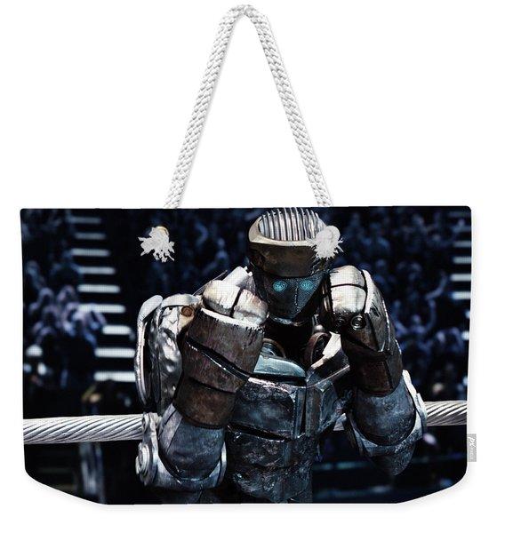Real Steel Atom Weekender Tote Bag
