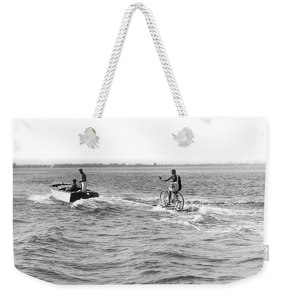 Really Riding The Waves Weekender Tote Bag