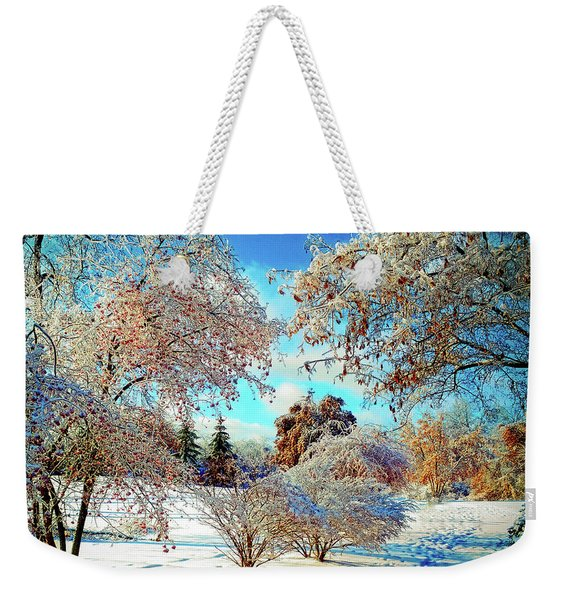 Realm Of The Ice Queen Weekender Tote Bag