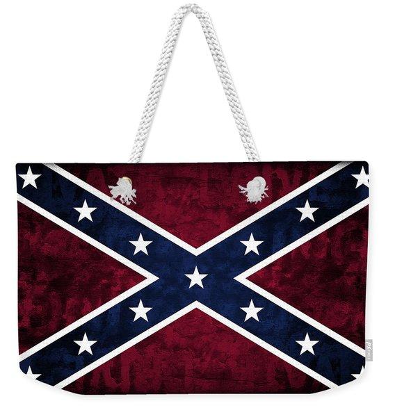 Rebel Flag Weekender Tote Bag