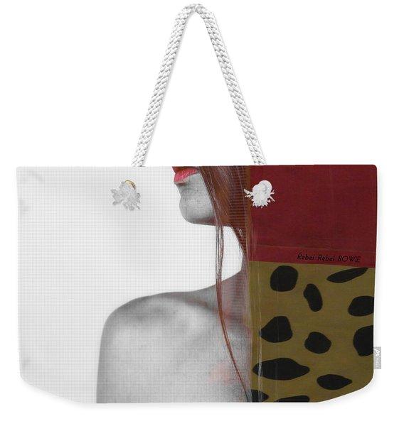 Rebel Rebel Weekender Tote Bag