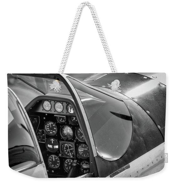 Rebel's Saddle- 2017 Christopher Buff, Www.aviationbuff.com Weekender Tote Bag