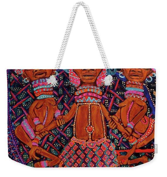 reCalling the Spirit Attendants Weekender Tote Bag