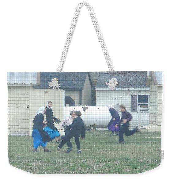 Recess Fun Weekender Tote Bag