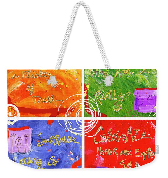 Reconnection Weekender Tote Bag
