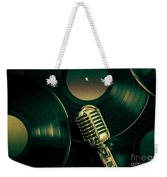 Recording Studio Art Weekender Tote Bag