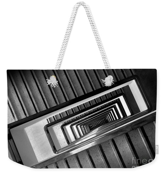 Rectangular Spiral Staircase Weekender Tote Bag