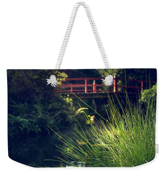 Red At Kubota Weekender Tote Bag