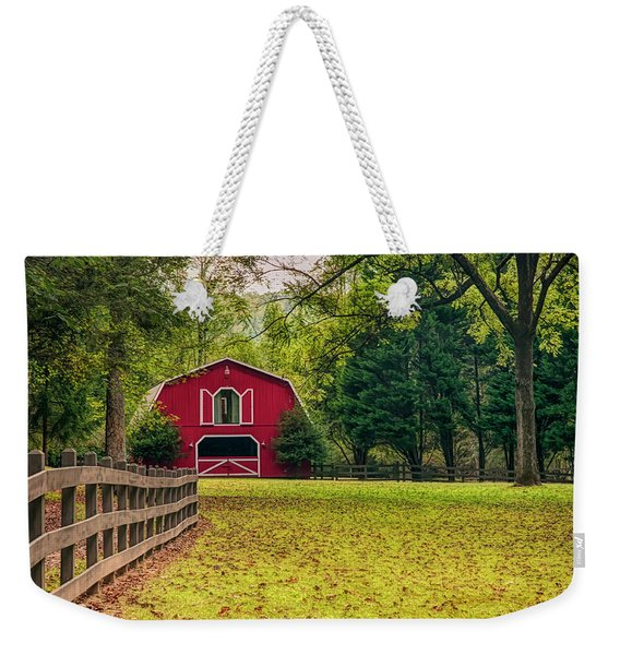 Red Barn 2 Weekender Tote Bag