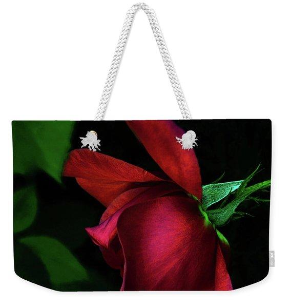 Red Beauty Weekender Tote Bag