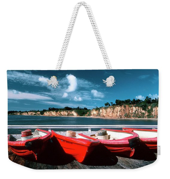 Red Boat Diaries Weekender Tote Bag