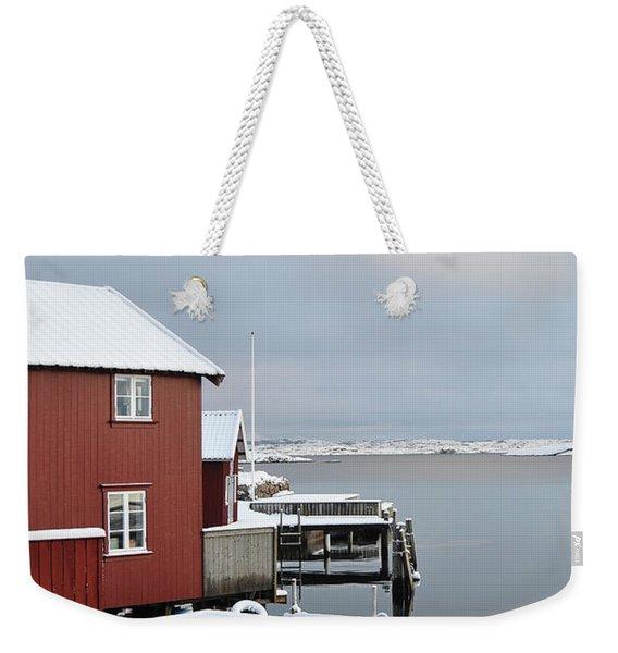 Boathouses Weekender Tote Bag