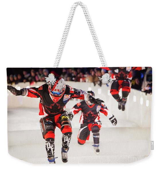Red Bull Crashed Ice St Paul 3 Weekender Tote Bag
