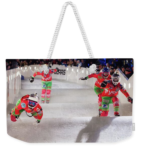 Red Bull Crashed Ice St Paul Weekender Tote Bag