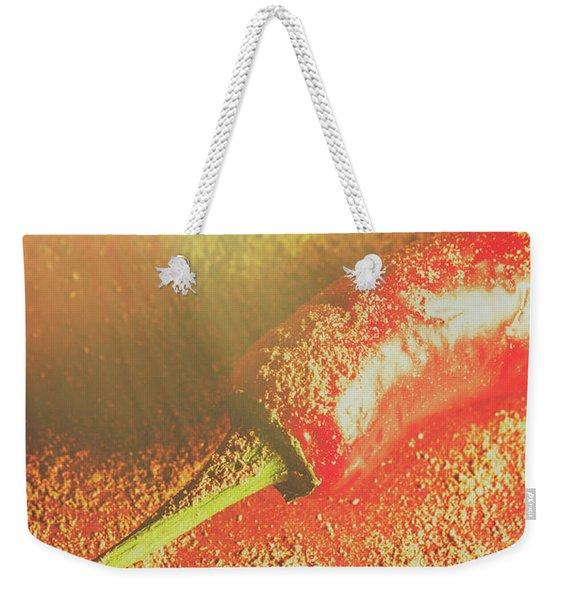 Red Cayenne Pepper In Spicy Seasoning Weekender Tote Bag