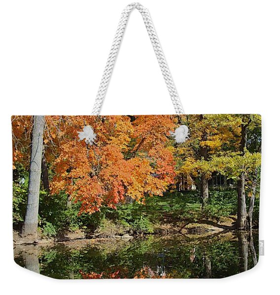 Red Cedar Banks Weekender Tote Bag
