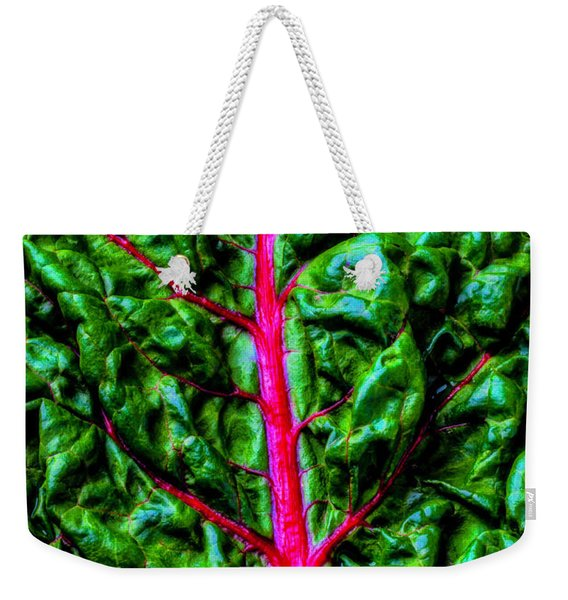 Red Chard Weekender Tote Bag