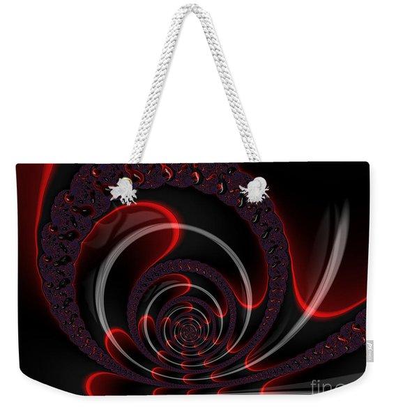 Red Cobra Weekender Tote Bag