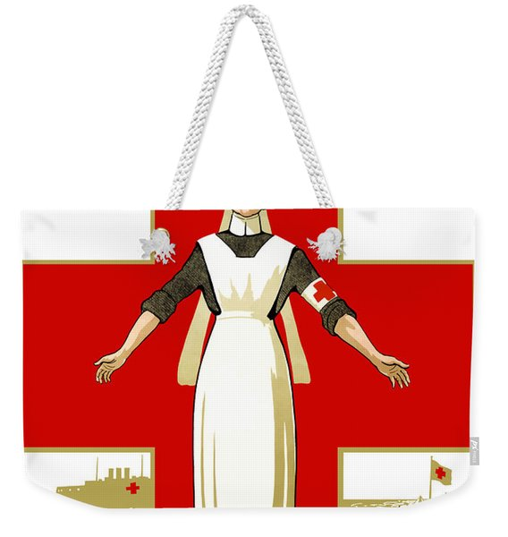Red Cross Nurse - Help Weekender Tote Bag