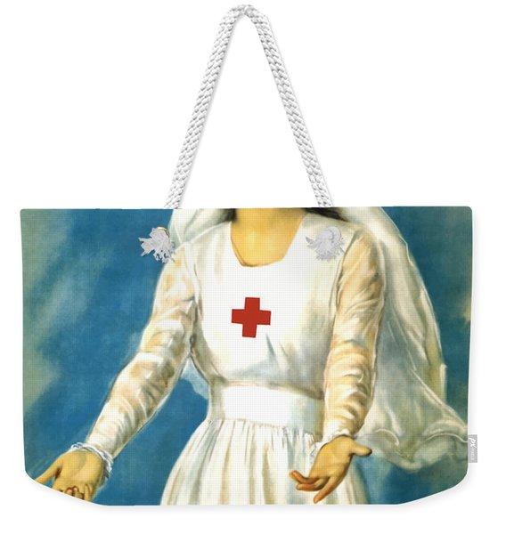Red Cross Nurse - Ww1 Weekender Tote Bag