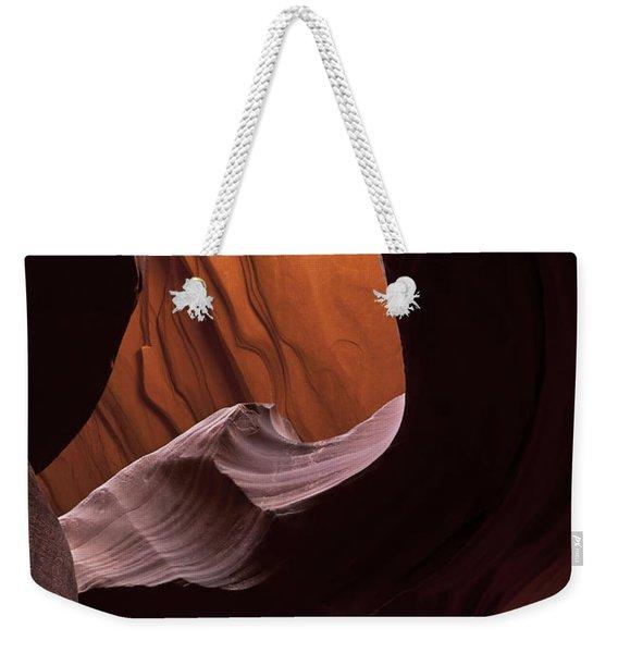 Red Desert Depth Weekender Tote Bag