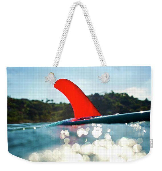Red Fin Weekender Tote Bag