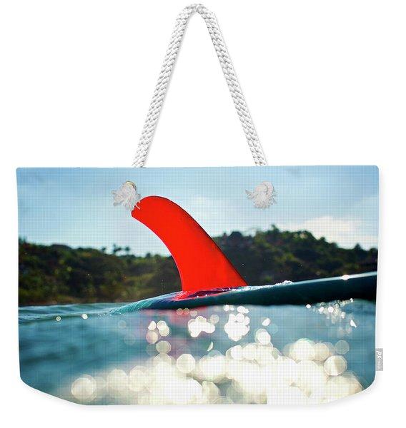 Red Fin Weekender Tote Bag