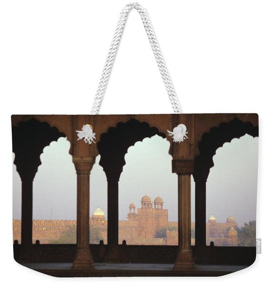 Red Fort From The Jama Masjid Weekender Tote Bag