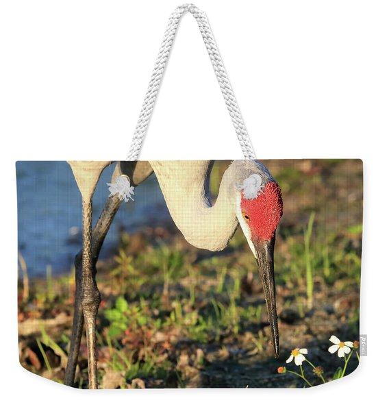 Red Heart Weekender Tote Bag
