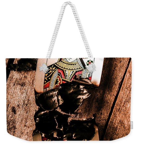Red Hot Blackjack Weekender Tote Bag