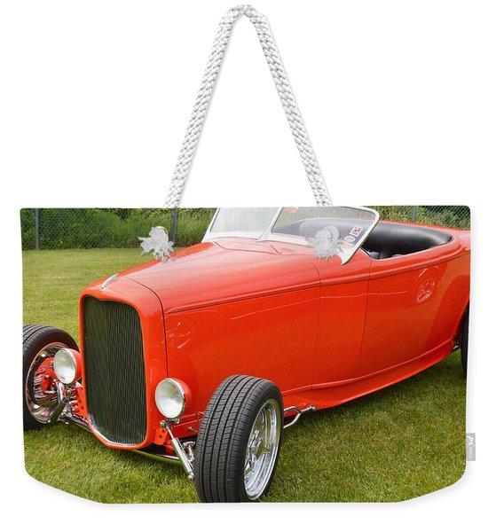 Red Hot Rod Weekender Tote Bag
