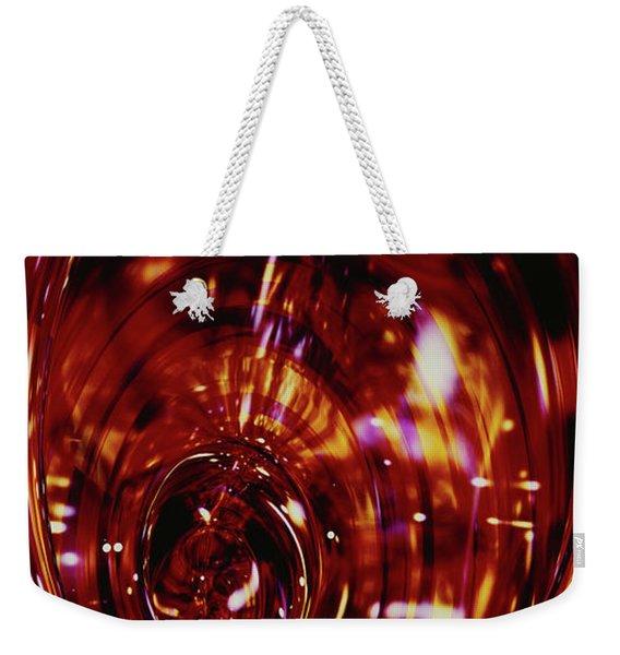 Red Inside Weekender Tote Bag