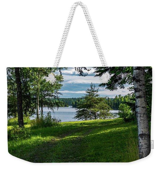 Red Lake Ontario 2 Weekender Tote Bag