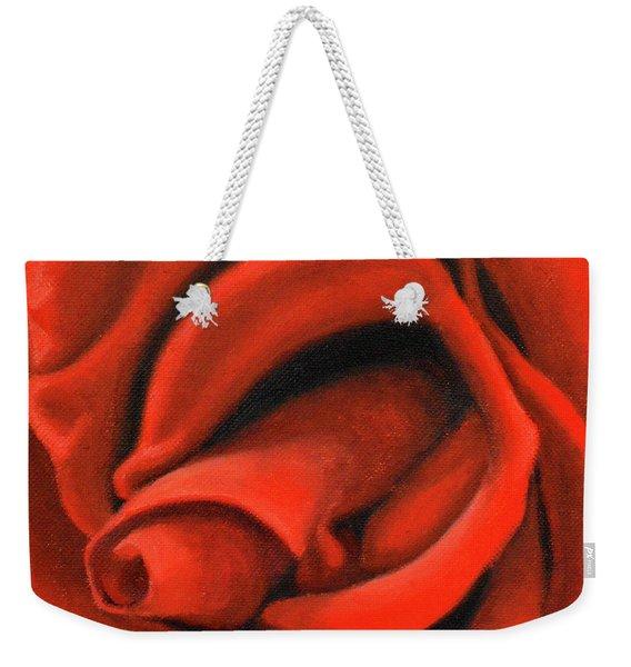 Red Lips Weekender Tote Bag