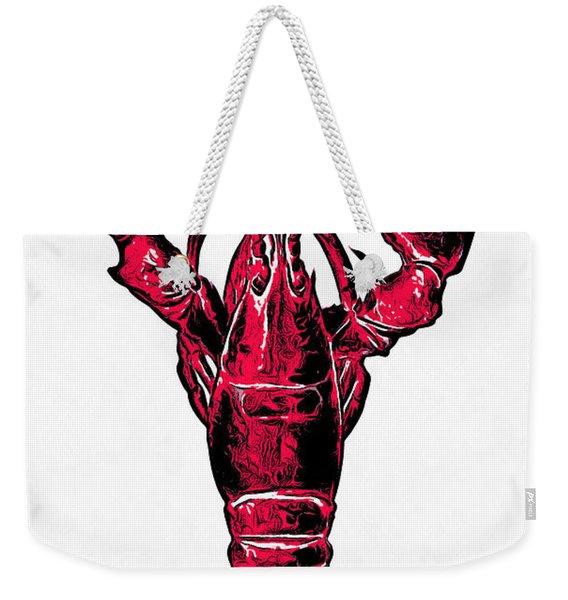 Red Lobster Weekender Tote Bag