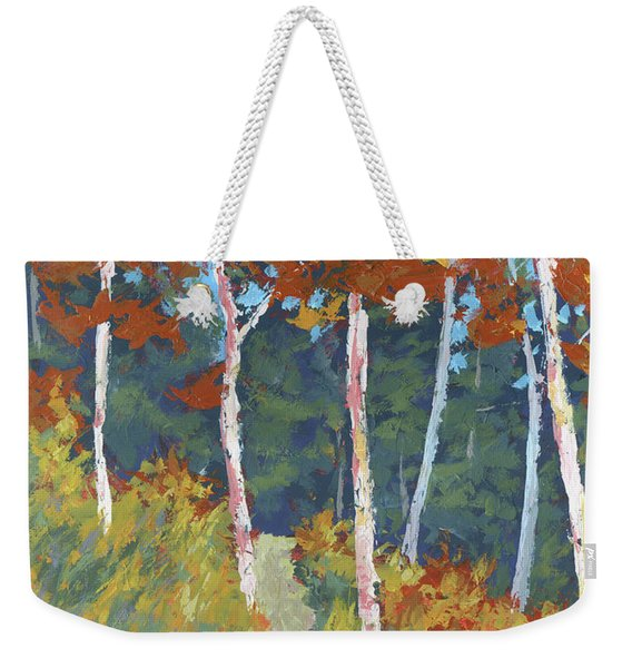 Red Mountain Aspens Weekender Tote Bag