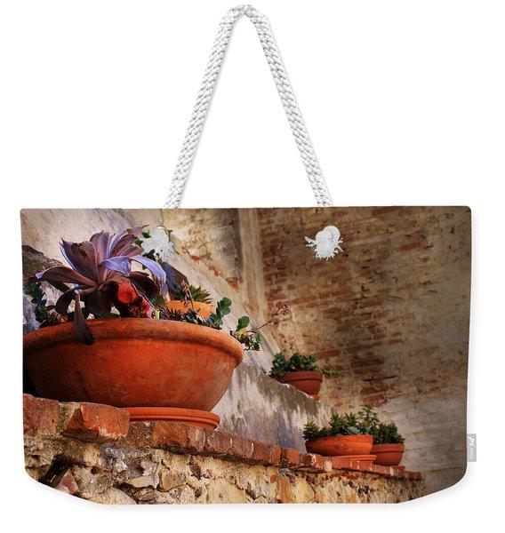 Red Pot Weekender Tote Bag