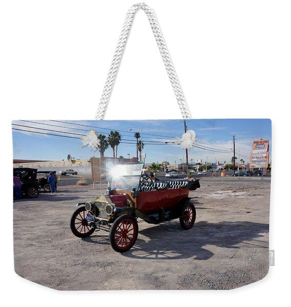 Red Roadster Weekender Tote Bag