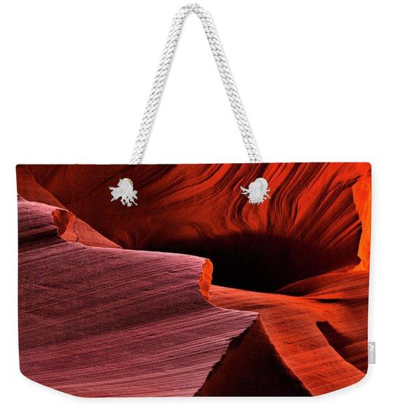 Red Rock Inferno Weekender Tote Bag