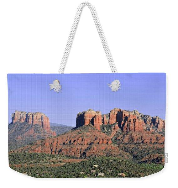 Red Rocks Sedona Weekender Tote Bag