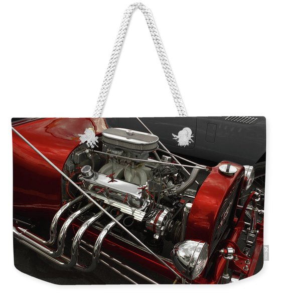 Red Rod Weekender Tote Bag
