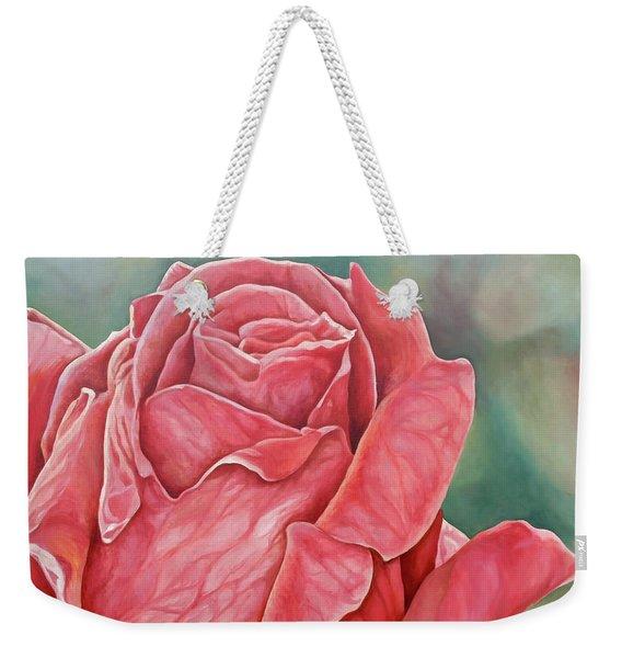 Red Rose 93 Weekender Tote Bag