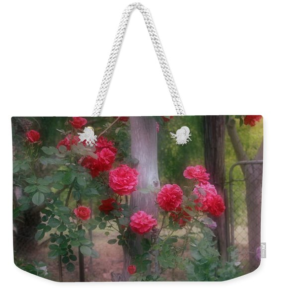 Red Rose Dream Weekender Tote Bag