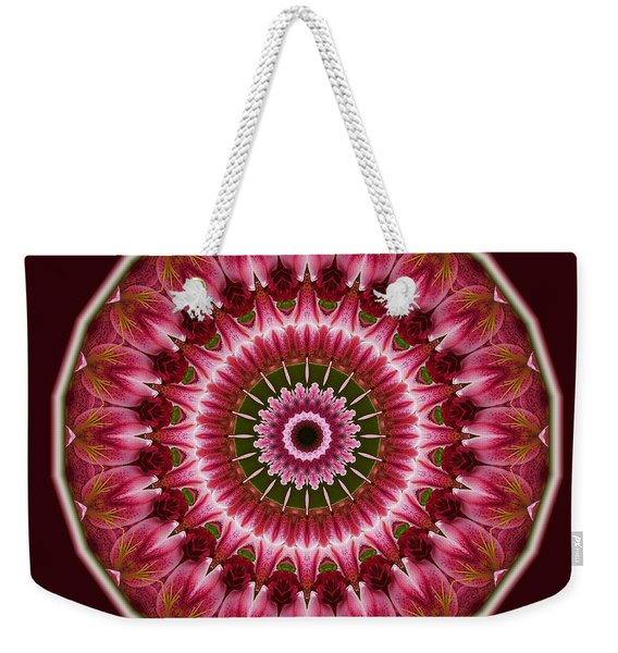 Red Roses And Thorns Weekender Tote Bag