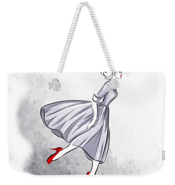 Red Shoes Red Lips Weekender Tote Bag