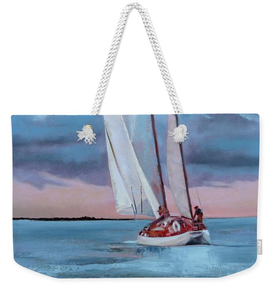 Red Skies Weekender Tote Bag