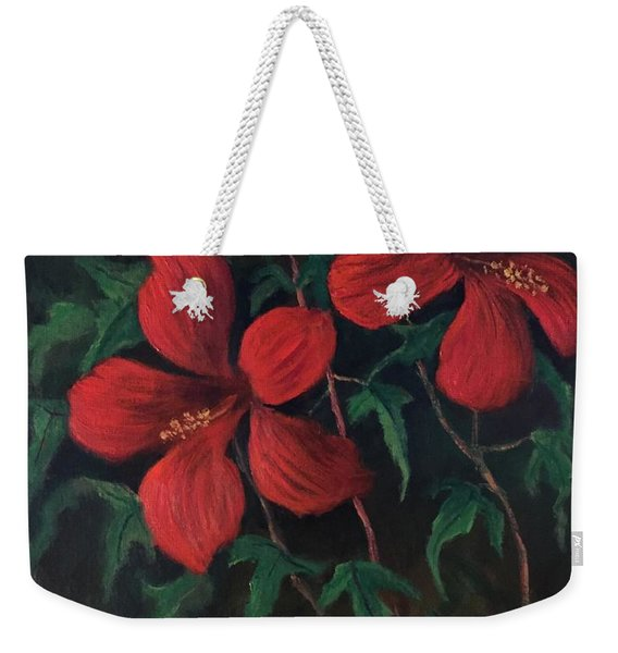 Red Soldiers Weekender Tote Bag