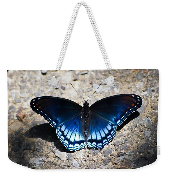 Red-spotted Purple Butterfly Weekender Tote Bag
