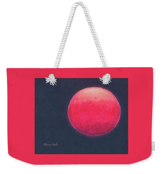 Red Sun Weekender Tote Bag