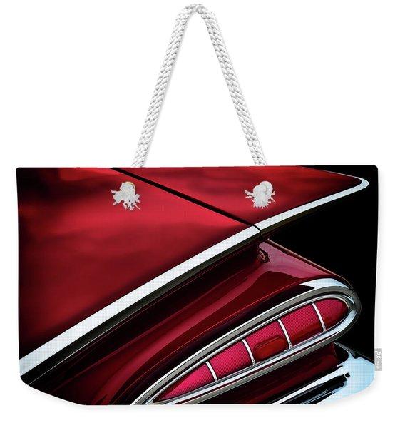 Red Tail Impala Vintage '59 Weekender Tote Bag